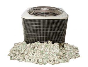 AC-compressor-money-pile